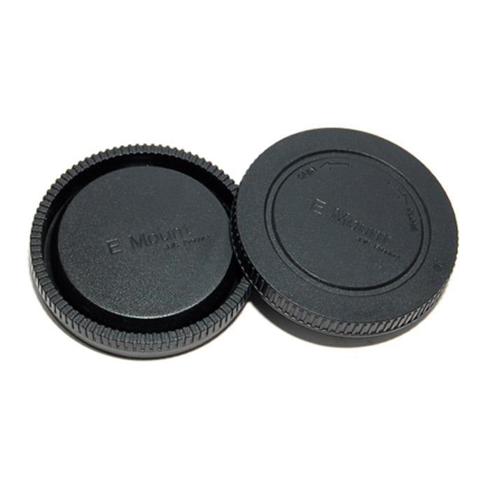 JJC крышка для объектива задняя + крышка байонета для фотокамер Sony NEX jjc крышка для объектива 77mm