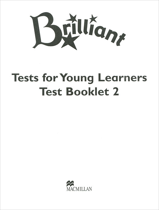 Brilliant: Test for Young Learners Test Booklet 2 cambridge young learners english flyers 5 answer booklet