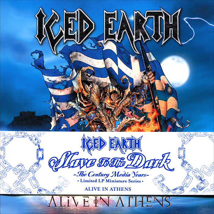 Iced Earth Iced Earth. Alive In Athens (3 CD) alluminum alloy magic folding table bronze color magic tricks illusions stage mentalism necessity for magician accessories
