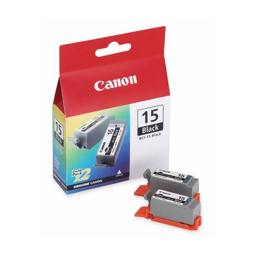 Canon BCI-15 Black двойная упаковкаBCI-15BL TWINCanon BCI-15 - сменная чернильница (черная).