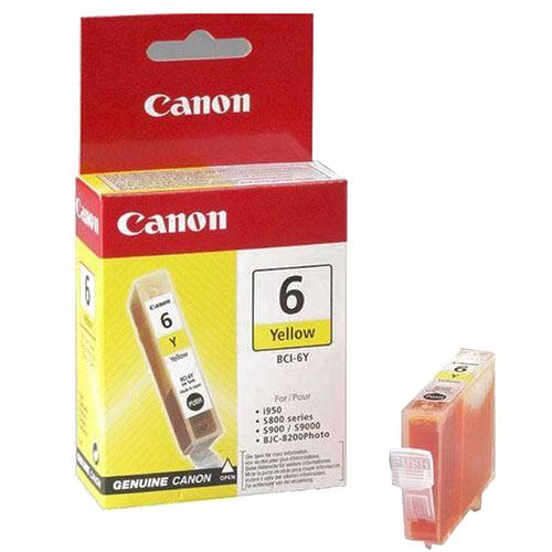 Canon BCI-6 YellowBCI-6YСменная чернильница Canon BCI-6.