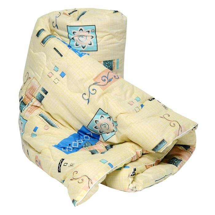 """Одеяло """"Руно"""" с наполнителем из овечьей шерсти окутает вас своим теплом и нежностью. Лечебные свойства натуральной шерсти, которая стимулирует кровообращение и облегчает мышечные боли, а так же ее высокая терморегуляция, обеспечат здоровый и комфортный сон, создавая оптимальный микроклимат в постели. Чехол одеяла выполнен из такни нового поколения Биософт, которая отличается нежной шелковистой фактурой и высокой прочностью, надежно удерживает наполнитель внутри изделия.  При правильном уходе одеяло """"Руно"""" надолго сохранит свои свойства и привлекательный внешний вид. Одеяло упаковано в чехол на застежке-молнии с ручкой, что очень удобно при переноске и хранении. Характеристики:Материал верха:  биософт (100% полиэстер). Материал наполнителя:  80% овечья шерсть, 20% полиэстер. Размер одеяла:  200 см х 220 см. Степень теплоты:  3. Производитель:  Россия. Артикул:  126319106.  УВАЖАЕМЫЕ КЛИЕНТЫ! Обращаем ваше внимание на возможные изменения в цветовом дизайне товара, а также в особенностях рисунка, связанные с ассортиментом продукции. Поставка осуществляется в зависимости от наличия на складе."""
