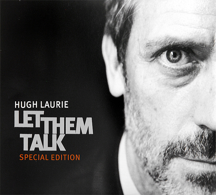 Хью Лори Hugh Laurie. Let Them Talk. Special Edition (CD + DVD) cd hugh laurie let them talk