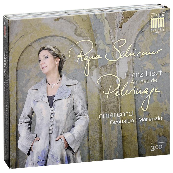 Рагна Ширмер Ragna Schirmer. Liszt. Annees De Pelerinage (3 CD) хорхе болетт jorge bolet liszt piano music 9 cd
