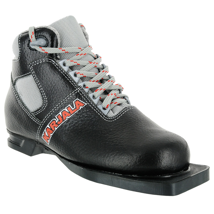 Ботинки для беговых лыж Karjala (Карелия) Nordic, цвет: черный. Размер 43