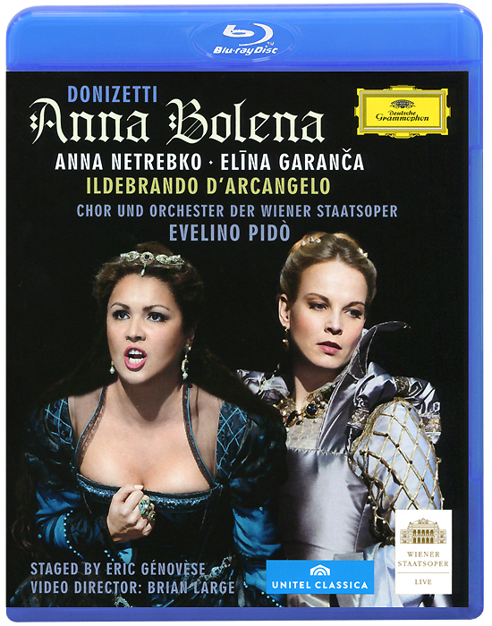 Donizetti, Evelino Pido: Anna Bolena (Blu-ray) the berlin concert domingo netrebko villazon blu ray