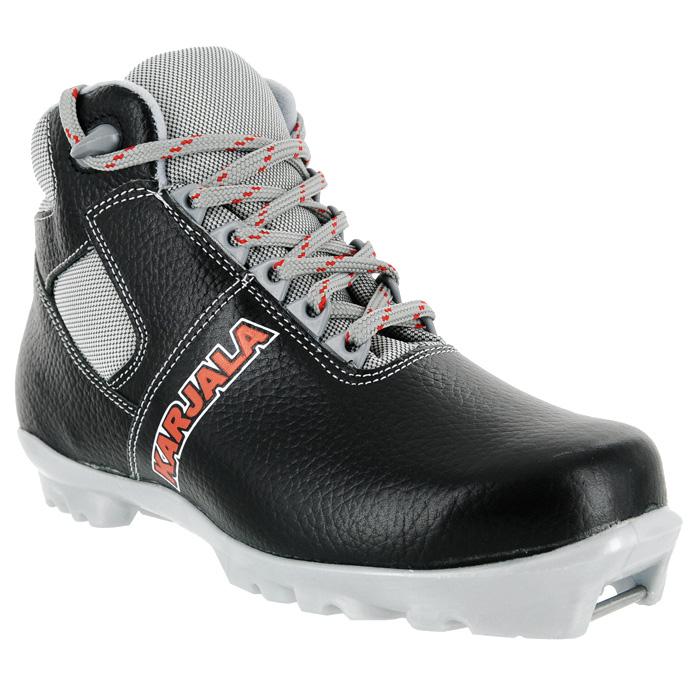 Ботинки для беговых лыж Karjala Arctic NNN, цвет: черный. Размер 47 ботинки для беговых лыж spine viper 251 nnn 35 black white