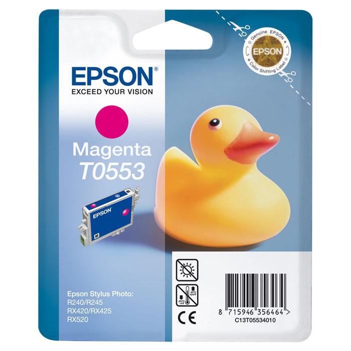 все цены на Epson C13T05534010 Magenta онлайн