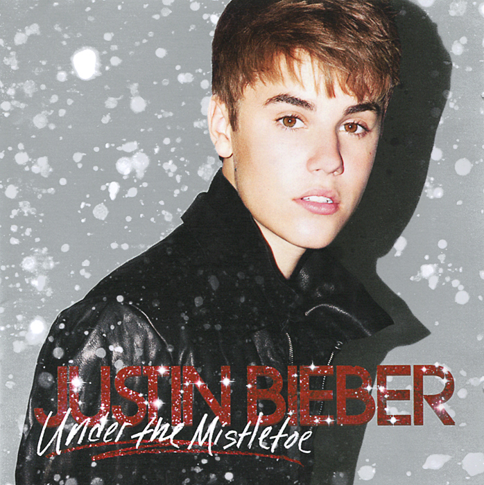 Джастин Бибер Justin Bieber. Under The Mistletoe. Deluxe Edition (CD + DVD) 9 inch car headrest mount dvd player digital multimedia player hdmi 800 x 480 lcd screen audio video usb speaker remote control