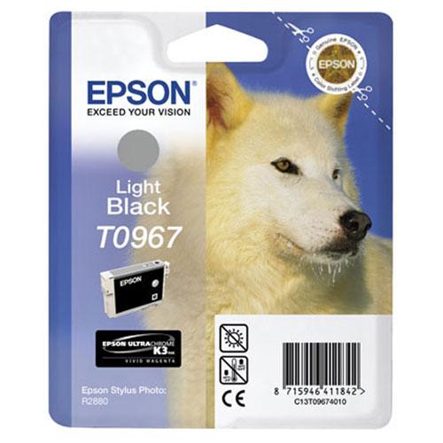 Epson C13T09674010 Light BlackC13T09674010Картридж Epson с цветными чернилами для струйной печати.