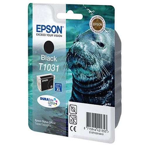 Epson C13T10314A10 BlackC13T10314A10Картридж экстраповышенной емкости Epson с черными чернилами для струйной печати.