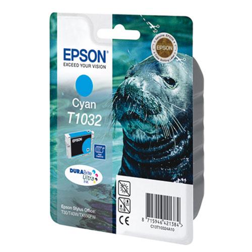 Epson C13T10324A10 CyanC13T10324A10Картридж повышенной емкости Epson с цветными чернилами для струйной печати.