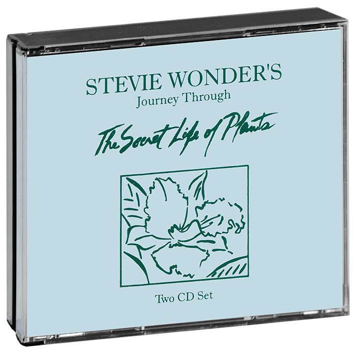 Stevie Wonder.  Secret Life Of Plants (2 CD) Motown Records,ООО