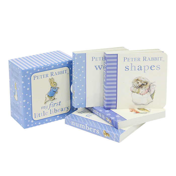 Скачать Peter Rabbit my First Little Library (Комплект из 4 книг. Миниатюрное издание) быстро