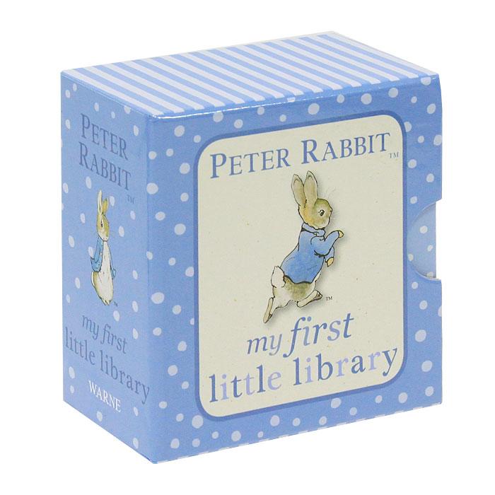 Peter Rabbit my First Little Library (Комплект из 4 книг. Миниатюрное издание) davis sarah sirett dawn my first learning library box my first world abc numbers hb