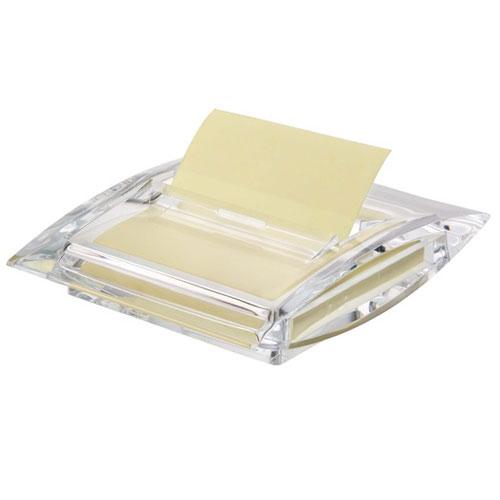 Диспенсер Info для бумаги для заметок Z-сложения, цвет: прозрачный564700Диспенсер Info станет не только незаменимым аксессуаром на рабочем столе, но и подчеркнет ваш стиль и индивидуальность. Выполнен из прозрачного акрила и предназначен для бумаги для записей Z-сложения размером 75 мм х 75 мм. Благодаря Z-сложению листочки из такого диспенсера легко извлекаются одной рукой и строго по одному. Характеристики:Материал: акрил.Размер диспенсера: 10,3 см х 13 см х 3 см. Размер упаковки: 13,5 см х 11 см х 3,5 см. Изготовитель: Тайвань.