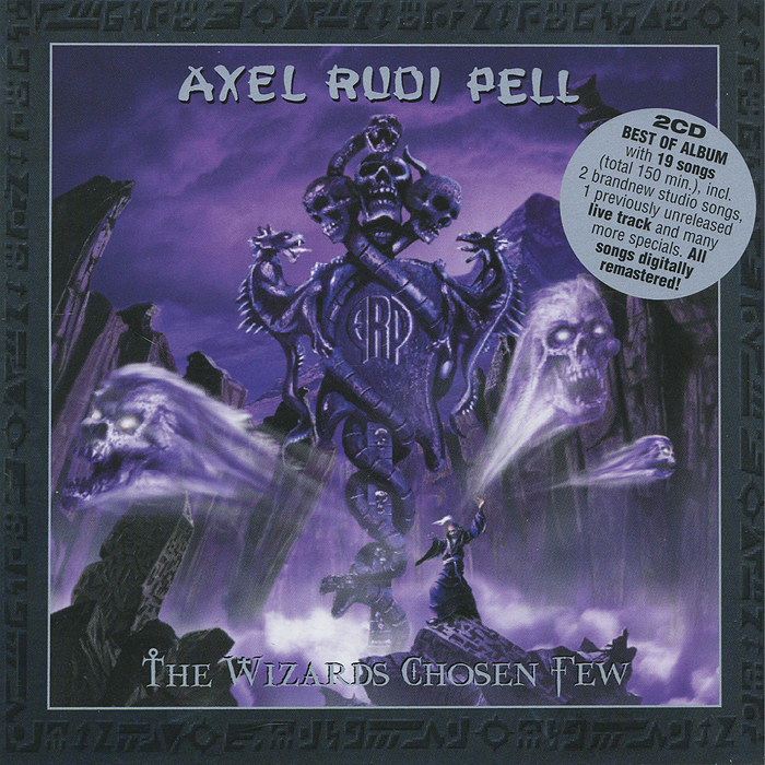 Аксель Руди Пелл Axel Rudi Pell. The Wizards Chosen Few (2 CD) рубашка fore axel
