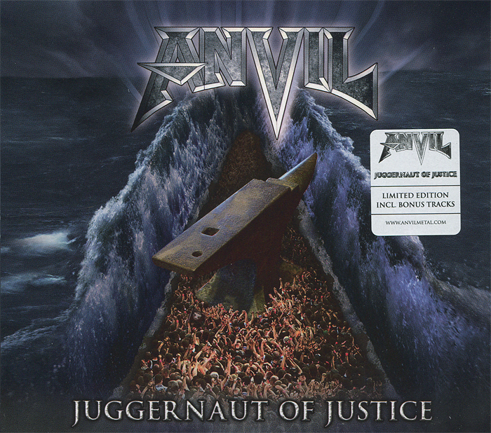 Anvil Anvil. Juggernaut Of Justice. Limited Edition restorative justice for juveniles