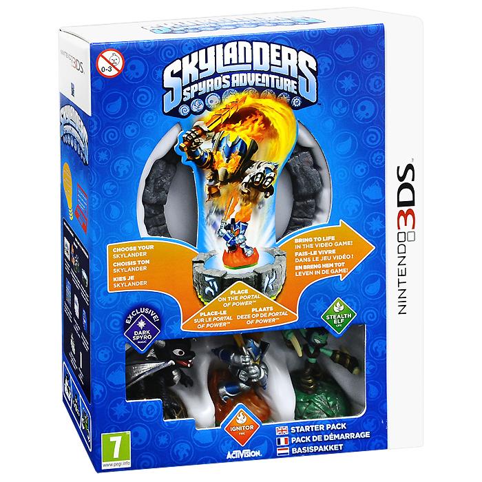 Skylanders Spyro's Adventure. Стартовый набор (3DS) skylanders spyro s adventure стартовый набор