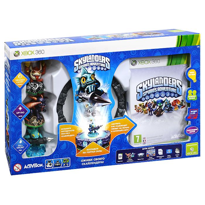 Skylanders Spyro's Adventure. Стартовый набор (Xbox 360) skylanders superchargers интерактивная фигурка суперзаряд big bubble pop fizz стихия magic