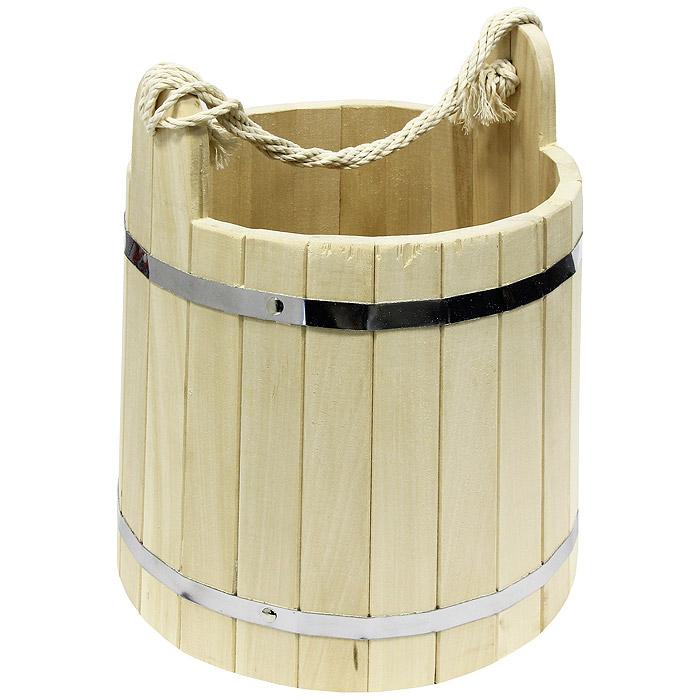 Ведро Банные штучки, 18 л03369Одним из тех приятных мелочей, без которых не обойтись при принятии банных процедур, является ведро для бани, изготовленное из дерева. Ведро прекрасно подойдет для обливания, замачивания веника или других банных процедур.Характеристики: Материал: дерево, металл. Объем: 18 л. Диаметр основания ведра: 34 см. Диаметр ведра по верхнему краю: 30 см. Высота ведра: 30 см. Размер упаковки: 40 см х 34 см х 35 см. Производитель: Россия. Артикул: 03369.
