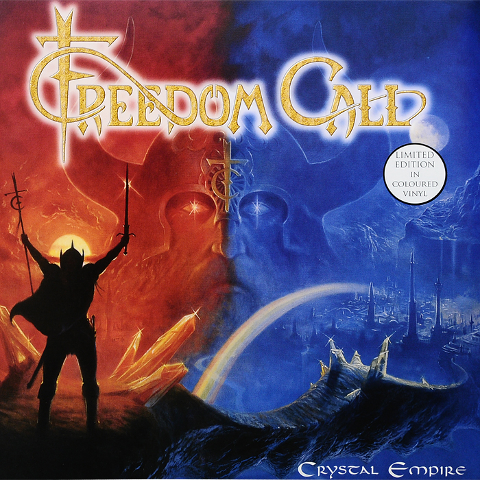Freedom Call. Crystal Empire. Limited Edition (2 LP)