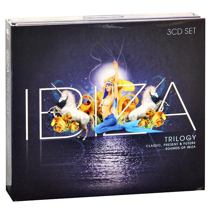 Thievery Corporation,Alex Medina,Алексис Кабрера,Solimano,Portman,Karu,Jazzanova Ibiza Trilogy (3 CD)
