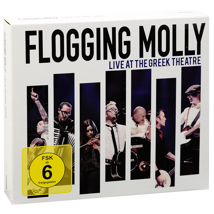 Flogging Molly Flogging Molly. Live At The Greek Theatre (2 CD + DVD) orchid seed the seven deadly sins asmodeus statue of lust pvc figure 1 8 scale