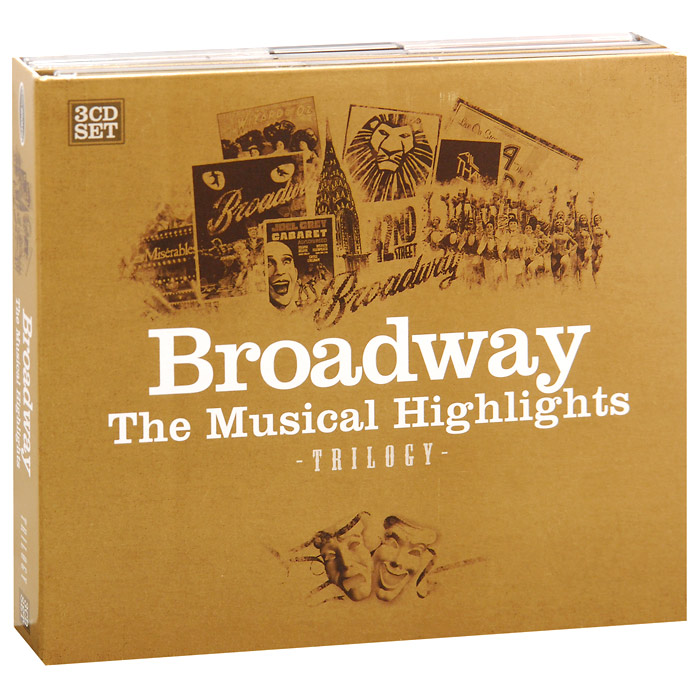 Brodway. The Musical Highlights. Trilogy (3 CD)