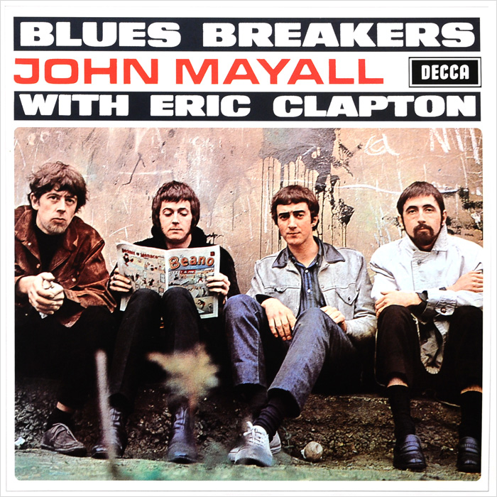 Джон Мэйолл,Эрик Клэптон John Mayall With Eric Clapton. Bluesbreakers (LP) все цены