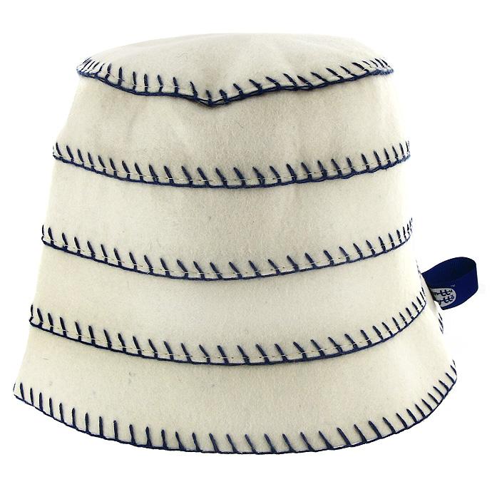 Шапка для бани и сауны Matti (Матти), цвет: бежевый. Размер S. 165165 SИзысканная утонченность шапок Matti (Матти), выполненных из натурального фетра, радует идеальной выделкой шерсти, что делает их удивительно гигроскопичными и защищает от высоких температур в парной. Особые дизайнерские находки нашли свое воплощение в необычном крое и высокой комфортности изделий. Контрастная окантовка привлекает внимание, объединяя благородство форм и лаконичность стиля. Характеристики: Цвет: бежевый. Материал: фетр. Размер шапки: S. Максимальный обхват головы (по основанию шапки): 64 см. Высота шапки: 18 см. Производитель: Россия. Артикул: 165.