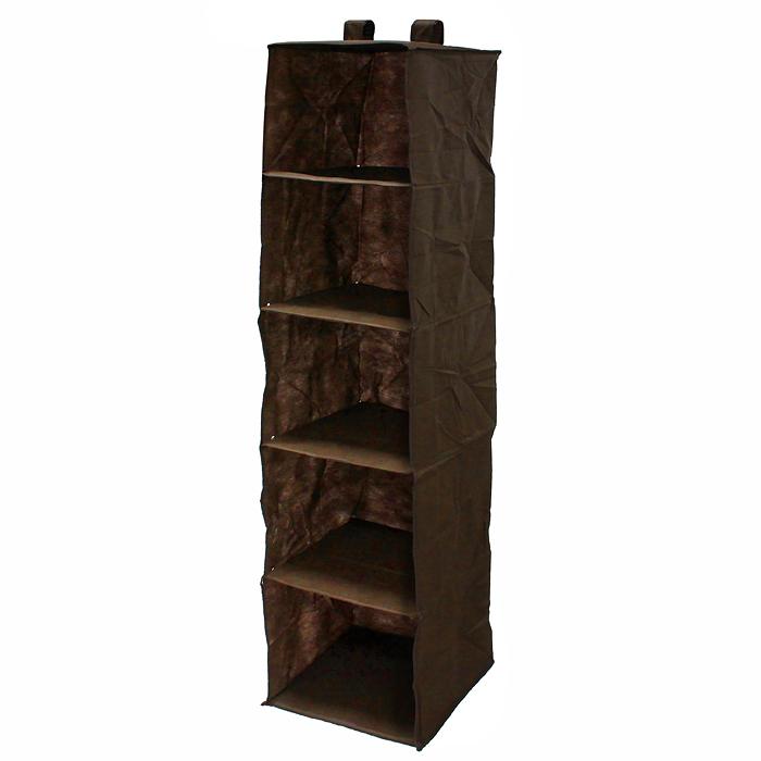 "Кофр для хранения одежды ""Eva"", 5 полок, 120 х 28 х 28 см, Еватекс"