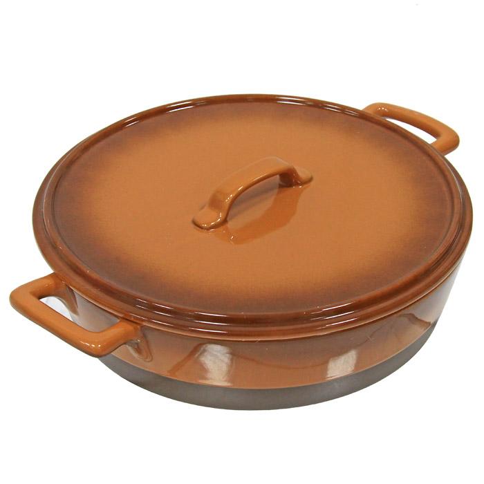 """Кастрюля """"Enns"""" с крышкой выполнена из керамики, станет незаменимым помощником у вас на кухне.  Основные преимущества керамической кастрюли """"Enns"""" с крышкой:   Подходит для использования в микроволновой, конвекционной печи и духовке;  Подходит для хранения продуктов в холодильнике и морозильной камере;  Устойчива к температурам от -30°С до +220°С;  Можно мыть в посудомоечной машине;  Идеально подходит для сервировки стола.    Характеристики: Материал:  керамика. Диаметр кастрюли (без ручек):  28 см. Высота стенок:  7,5 см. Объем:  3 л. Производитель:  Австрия. Артикул:  UCW-4202/36.  Керамическая посуда пользуется огромной популярностью во всем мире, и не случайно. Всем известны достоинства этой необыкновенно красивой и практичной посуды. Ведь только керамическая посуда способна обеспечить равномерный нагрев и долгое сохранение температуры. Именно эти качества позволяют придать особый аромат продуктам, сохранить витамины и микроэлементы, которые часто разрушаются при нагревании. Кроме этого, керамическая посуда не выделяет химических примесей в процессе приготовления пищи, что, безусловно, положительно скажется на вашем здоровье и самочувствии.   Керамическая посуда торговой марки """"UNIT"""" - это не только идеальное соотношение цены и качества, это здоровье и хорошее настроение вас и вашей семьи."""