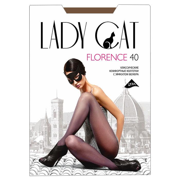 Колготки классические Грация Lady Cat Florence 40. Suntan (загар). Размер 6 spine lady 357 40
