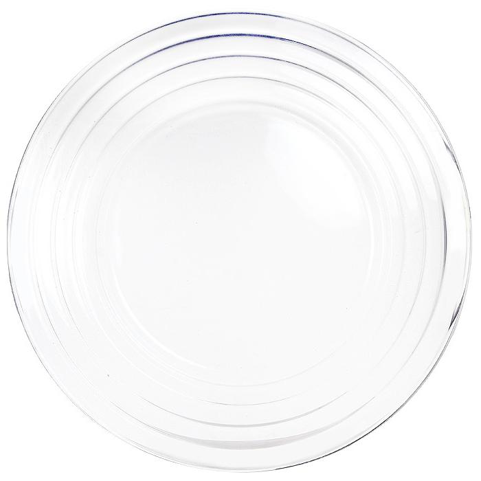 Тарелка Grace, диаметр 35 см. 6810768107Тарелка Grace выполненная из хрусталина, отлично подойдет для красивой сервировки различных блюд. Она отличается особой легкостью и прочностью, излучает приятный блеск и издает мелодичный хрустальный звон.Тарелка Grace станет идеальным украшением праздничного стола, а также послужит отличным подарком.Посуда серии F&Dиз хрусталина - новое направление компании Pasabahce. Хрусталин - это хрусталь на основе оксида бария без содержания окиси свинца. Хрусталин обладает всеми свойствами классического хрусталя. Характеристики: Материал:хрусталин. Диаметр тарелки:35 см. Размер упаковки:35,5 см х 2 см х 35,5 см. Производитель:Турция. Артикул:68107.