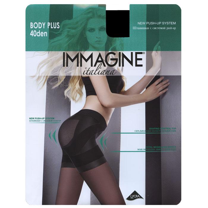 Колготки Immagine Body Plus 40, цвет: Nero (черный). Размер 2 (40/42)