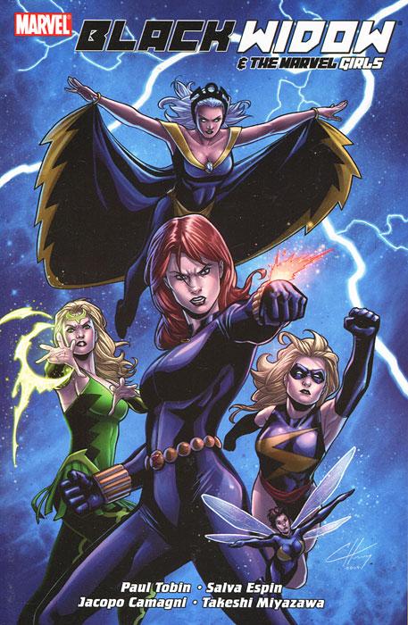 Black Widow & The Marvel Girls the pregnant widow