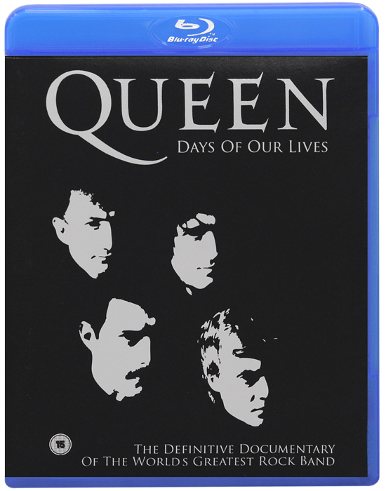 Queen: Days Of Our Lives (Blu-ray) celine dion through the eyes of the world blu ray