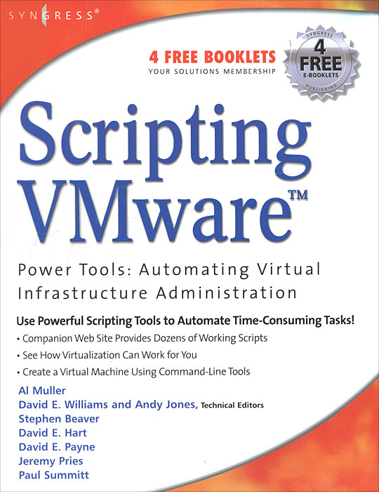 Scripting VMware: Power Tools: Automating Virtual Infrastructure Administration netcat power tools