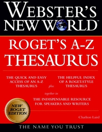 Webster?s New WorldTM Roget?s A–Z Thesaurus encarta thesaurus