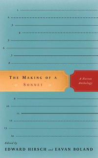 The Making of A Sonnet – A Norton Anthology the norton anthology of american literature 6e v e