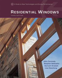 Residential Windows – A Guide to New Technologies and Energy Performance 3e statistics 3e tm