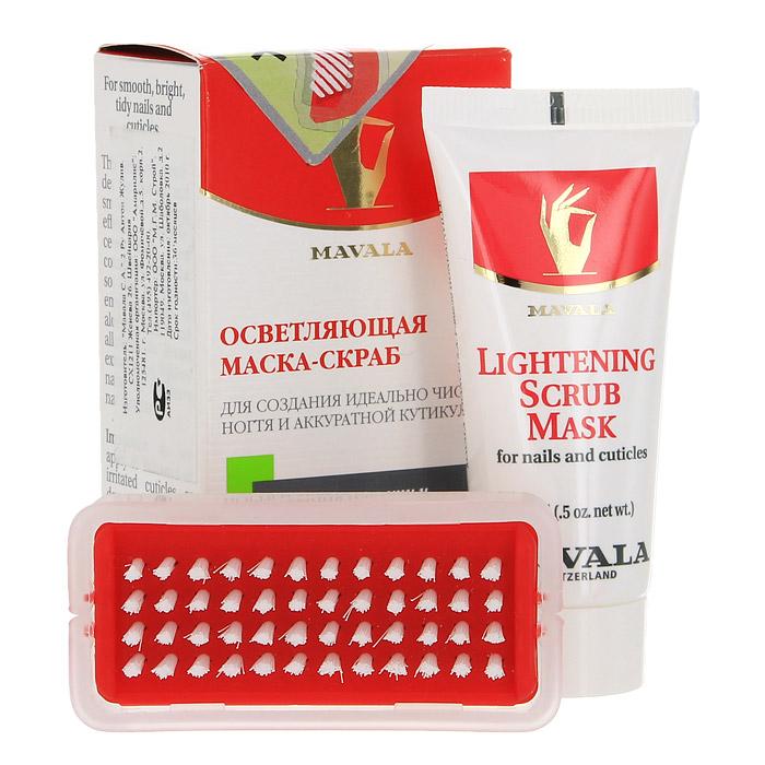 Осветляющая скраб-маска Mavala для ногтей, 15 мл14-1227Маска удаляет любые загрязнения с ногтей и контура ногтя, сглаживает неровности ногтевой пластины, сохраняя при этом ее эластичность, смягчает кутикулу и помогает устранить омертвевшие клетки кожи благодаря натуральному и эффективному увлажняющему компоненту Диатомовой Земле (микроскопические частицы морских водорослей). Экстракт лимона - тонизирует, ухаживает и осветляет ногти, приводя их в идеальное состояние. Витамин В5 (пантотеновая кислота)- необходим для полноценного роста ногтя, принимает участие в белковом обмене. Питает матрицу и укрепляет структуру ногтя. Экстракт зародышей пшеницы - поддерживает водный баланс эпидермиса, обладает регенерирующим и антиоксидантными свойствами. Алое Вера - оказывает заживляющее, бактерицидное, тонизирующее действие, используется в препаратах для чувствительной кожи. Экстракт Мальвы - обладает ярко выраженным смягчающим и увлажняющим действием,регулирует жировой баланс. Снимает воспаления и раздражения, заживляет ранки, активирует защитные силы. Аллонтаин - (содержится в окопнике лекарственном) обладает смягчающими свойствами, заживляет и уменьшает воспаление и шелушение кожи , увлажняя ее. Способ применения: Средство применяется 1-2 раза в неделю на очищенные от лака ногтидля придания им идеальной формы и ухоженного вида. Нанесите небольшое количество средства на чистые смоченные в воде ногти и кутикулы и помассируйте 10-20 секунд каждый ноготь. Удалите остатки средства с помощью теплой воды и щеточки для ногтей, которая входит в упаковку маски. Характеристики:Объем скраб-маски: 15 мл. Размер щеточки: 6,5 см х 3 см х 1,5 см. Производитель: Швейцария. Артикул: 919.14.Товар сертифицирован.