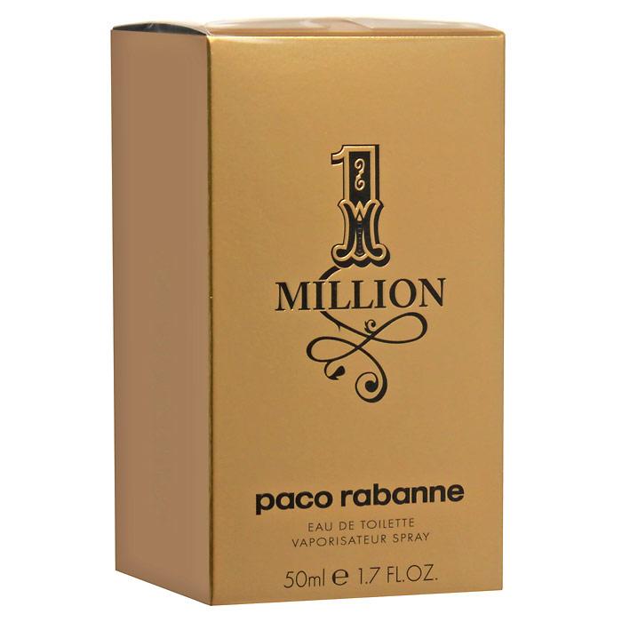 Paco Rabanne 1 Million. Туалетная вода, 50 мл5682Аромат One Million обращается к образам, заставляющим мечтать: блестящие машины, погони за сокровищами или красивыми девушками… удовольствия, желания, все, что сверкает и вызывает головокружение. Без комплексов и с наслаждением… С неоспоримой долей юмора герой One Million использует свое очарование и даже злоупотребляет им, чтобы в одно мгновение добиться всего того, чего он всегда желал. One Million – это настоящая парфюмерная симфония! Сначала - радостная серия ярких и искрящихся нот: свежесть грейпфрута, мяты и красного мандарина - настоящее очарование. За ними следуют насыщенные сердечные ноты: экстракт розы, корицы и пряностей - захватывающее путешествие в мир чувственной утонченности и подчеркнутой мужественности. И, наконец, заключительный бархатистый аккорд из ароматов кожи, белой древесины, стиракса (смолы амбрового дерева) и индонезийских пачулей. В итоге, перед нами не один, а целое множество ароматов, настоящий каскад свежести с ярким вкусовым послесловием. Верхняя нота: Красный мандарин, перечная мята. Средняя нота: Абсолю розы, корица. Шлейф: Кожаный аккорд, амбра. Абсолю розы и ноты кожи - аромат золота. Культовой жизни.