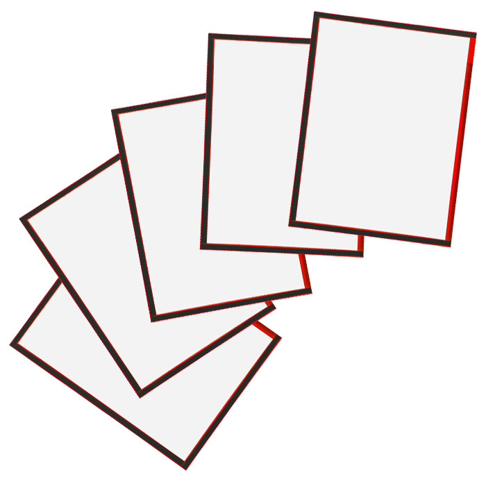 """Конверт с магнитной рамкой """"Magnetoplan"""", А3, цвет: красный, 5 шт"""