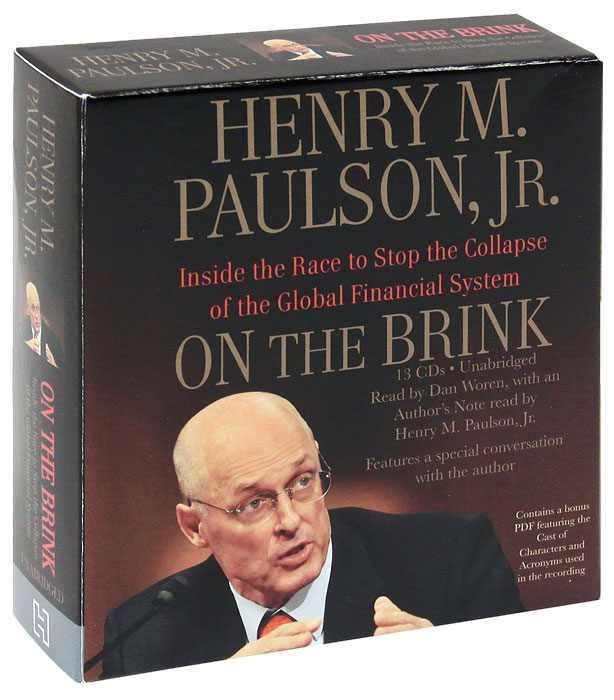 On the Brink: Inside the Race to Stop the Collapse of the Global Financial System (аудиокнига MP3 на 12 CD)