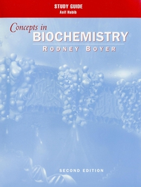 Study Guide to Accompany Concepts in Biochemistry, 2nd Edition