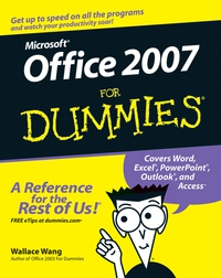 Office 2007 For Dummies® faithe wempen office 2016 at work for dummies