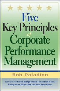 Five Key Principles of Corporate Performance Management david parmenter key performance indicators