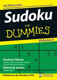Sudoku For Dummies® internet explorer 4 for windows® for dummies® quick reference